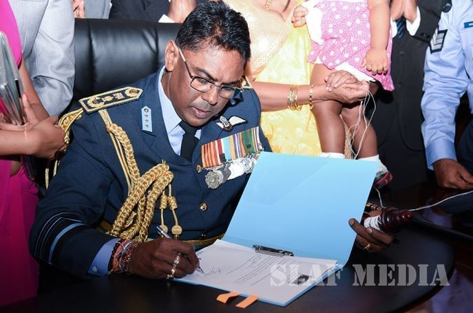 Kapila Jayampathy New Air Force Chief takes over command