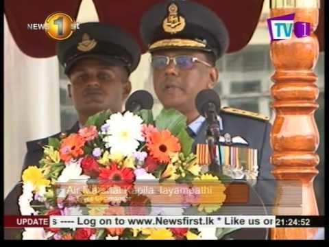 Kapila Jayampathy News 1st Air Marshal Kapila Jayampathy assumes duties as Air Force