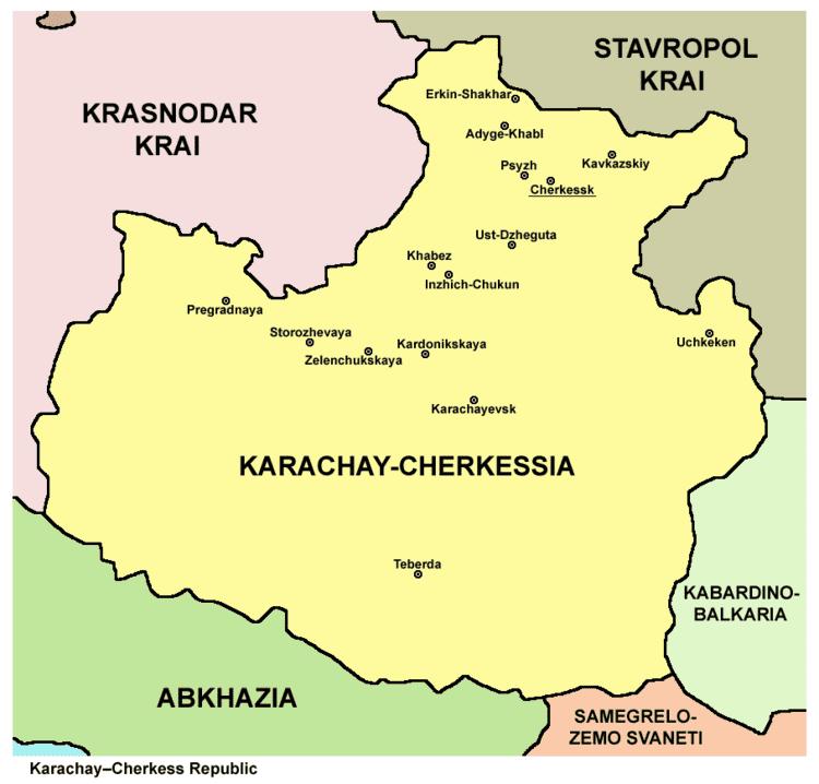 Karachay Cherkessia in the past, History of Karachay Cherkessia