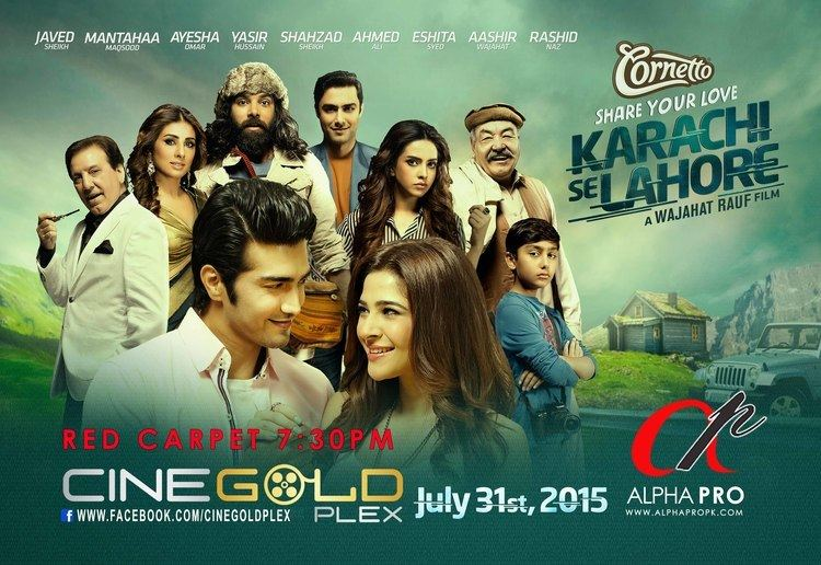 Karachi Se Lahore Islamabad to be met by the Cast of Karachi Se Lahore Media Spring