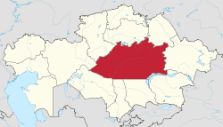 Karaganda Region Wikipedia