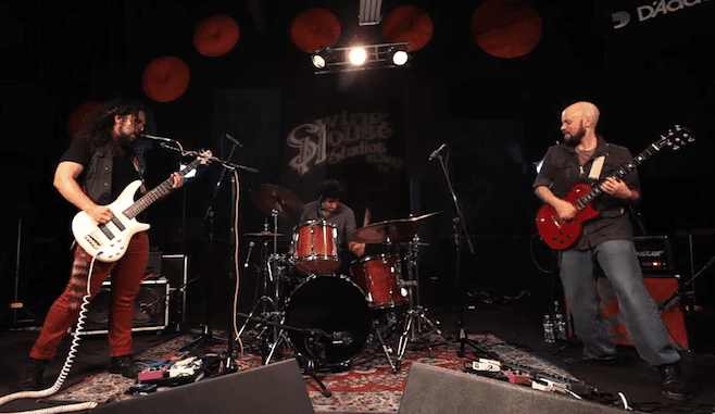Karate (band) Band of The Month Hot Karate Conjure Shredding Demons at Swing