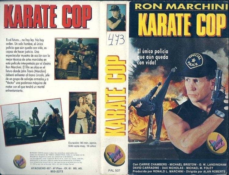 Karate Cop Karate Cop Trailer en espaol VHS YouTube