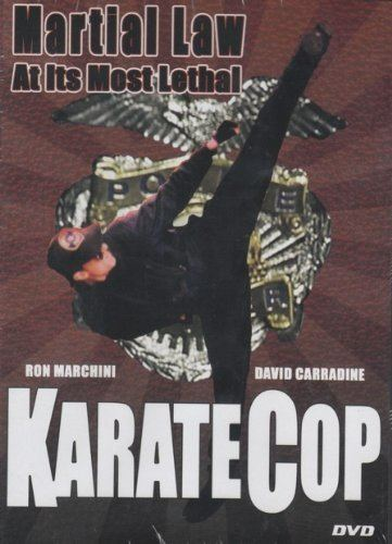 Karate Cop Amazoncom Karate Cop Slim Case Ron Marchini David Carradine