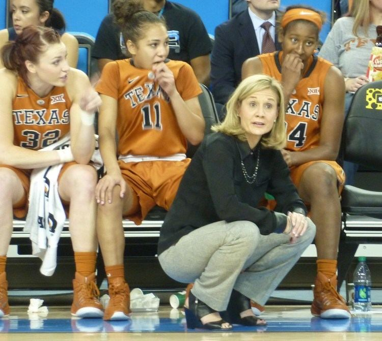 Karen Aston 10 Texas uses rebounds to down UCLA 7565 fullcourtcom