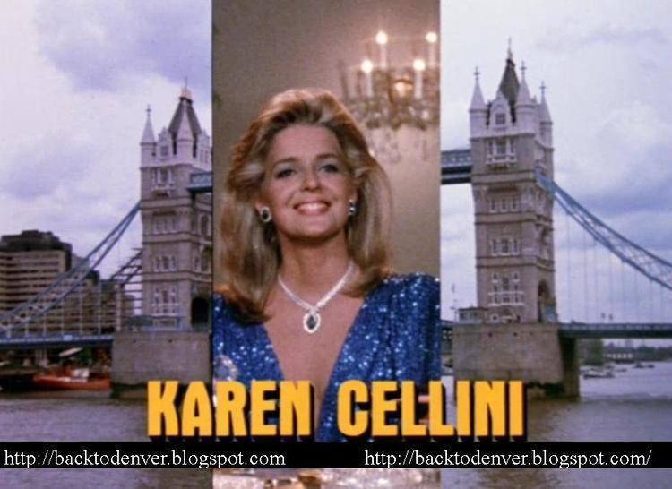 Karen Cellini Back to Denver Catherine Oxenberg Karen Cellini as