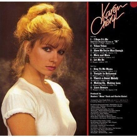 Karen Cheryl BEST ORIGINALSGOLD RECORDSI HOPE IT39S ME by KAREN CHERYL