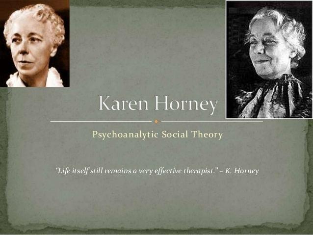 Karen Horney Karen horney