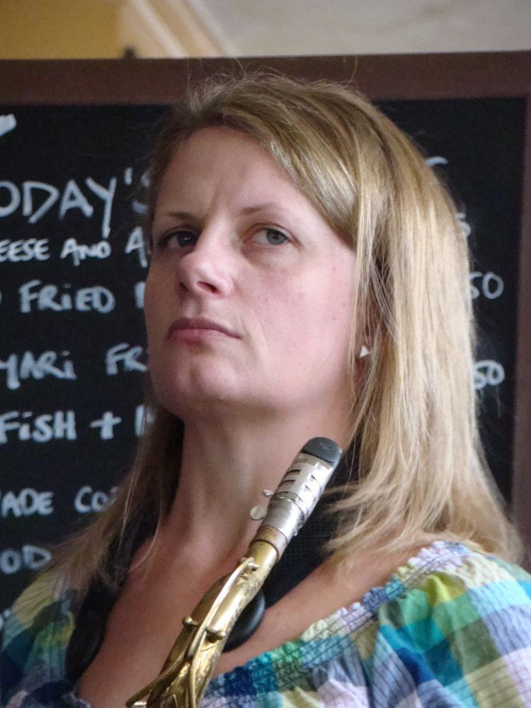 Karen Sharp Steve Vintner JAZZ LIVES