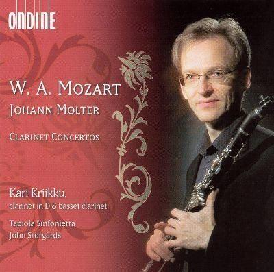 Kari Kriikku Mozart amp Johann Molter Clarinet Concertos Kari Kriikku