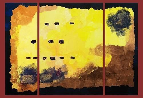 Karin Baumeister-Rehm Roma by Karin BaumeisterRehm Abstract art Painting