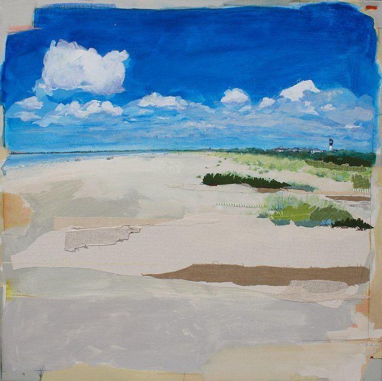 Karin Olah Karin Olah original fine art paintings with fabric and