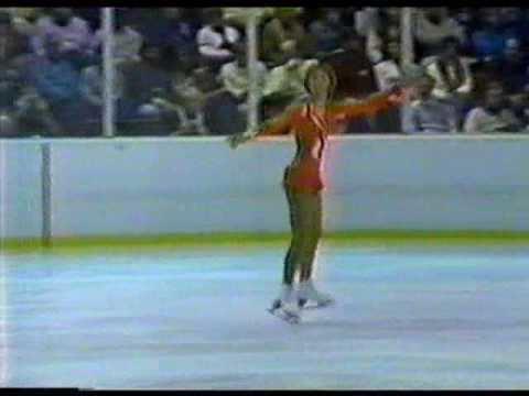 Karin Riediger Karin Riediger FRG 1980 Lake Placid Ladies Free Skate YouTube