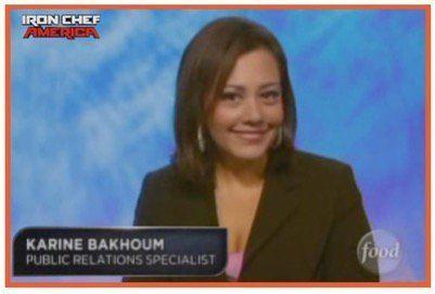 Karine Bakhoum Karine Bakhoum The Iron Palate PR Firm NYC Media Relations