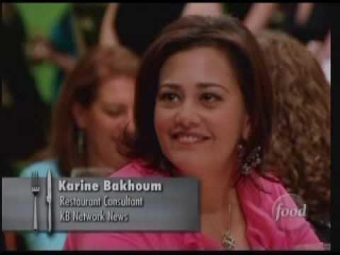 Karine Bakhoum Karine Bakhoum on Food Networks 24 Hour Restaurant Battle YouTube