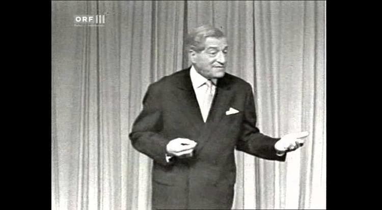 Karl Farkas Karl Farkas Bilanz des Jahres 1964 YouTube