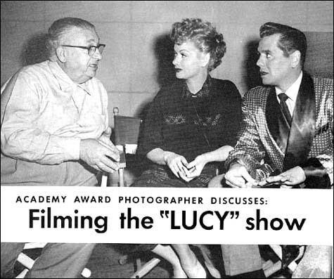 Karl Freund Filming the 39Lucy39 Showquot by Karl Freund