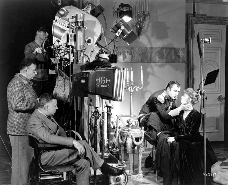 Karl Freund On the set of Conquest cinematographer Karl Freund director