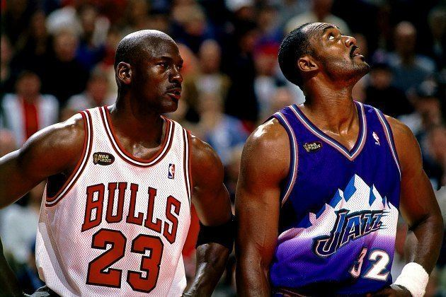 Karl Malone Numbers Never Lie Karl Malone Was The Best Of His Era The Sports