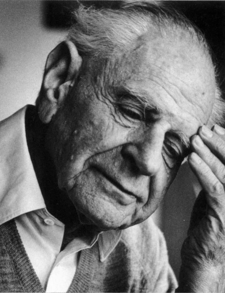 Karl Popper Today in History 17 September 1994 Death of Karl Popper