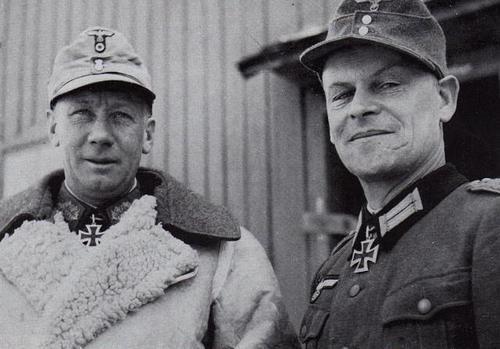 Karl von Le Suire German Forces Karl von Le Suire Willy Nagel
