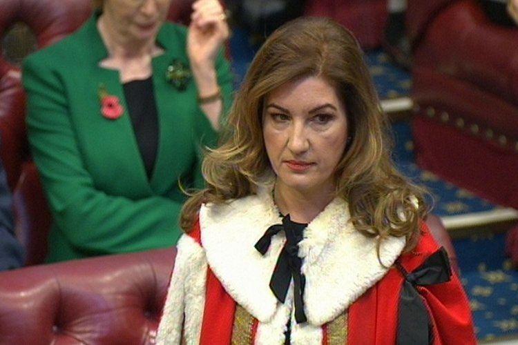 Karren Brady Karren Brady becomes Baroness Brady of Knightsbridge London