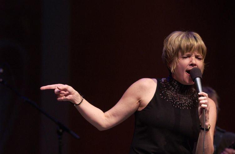 Karrin Allyson Jazz singer Karrin Allyson strives for authentic sound