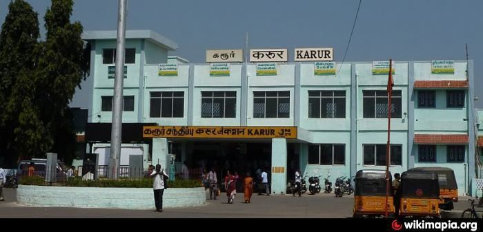 Karur in the past, History of Karur