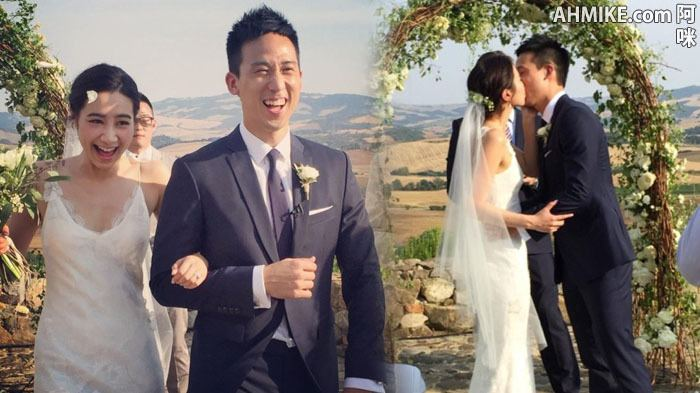 Kary Ng Singer Kary Ng Holds Wedding Ceremony In Italy With Husband