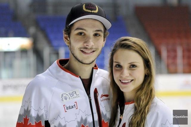Kasandra Bradette Kasandra Bradette et Samuel Girard aux Jeux olympiques Jonathan