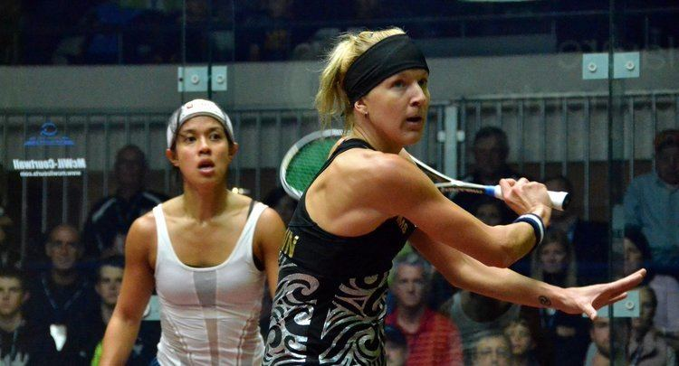 Kasey Brown Squash Mad US OPEN Kasey Brown stuns Nicol David Squash Mad