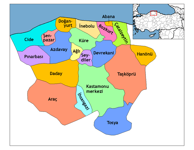 Kastamonu in the past, History of Kastamonu