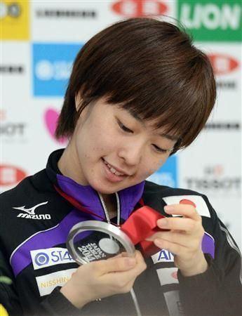Kasumi Ishikawa Kasumi Ishikawa ZEN NOH 2014 World Team Table Tennis Championships