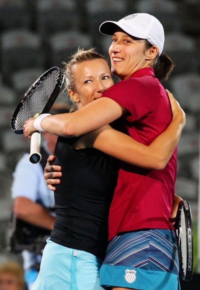 Katarina Srebotnik Wimbledon Defending champions Kveta Peschke and Katarina