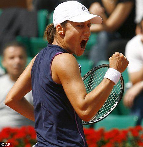 Katarina Srebotnik Serena Williams crashes out to Srebotnik but Ivanovic