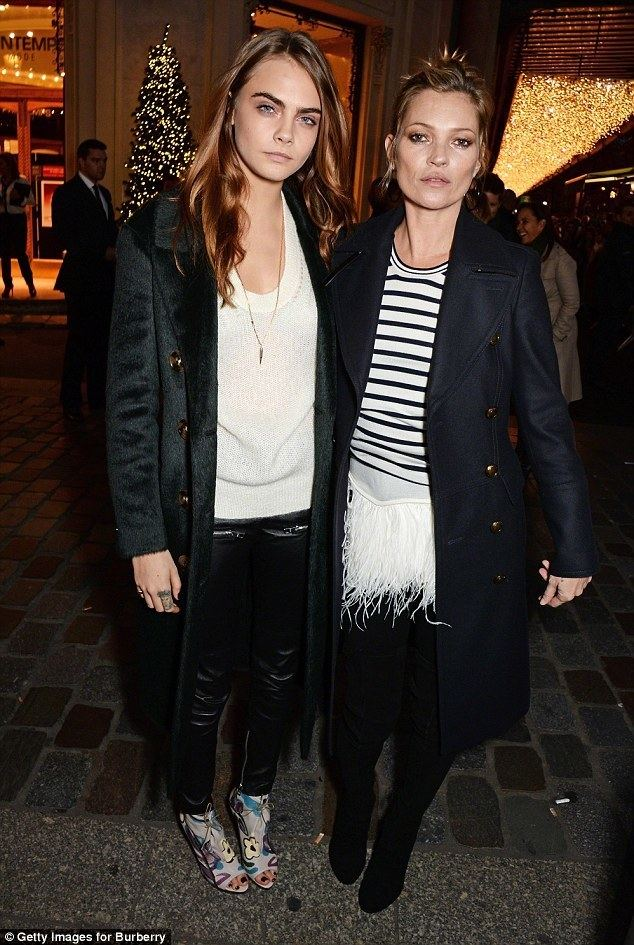 Kate Moss Kate Moss puts Cara Delevingne on a blacklist as the model pairs