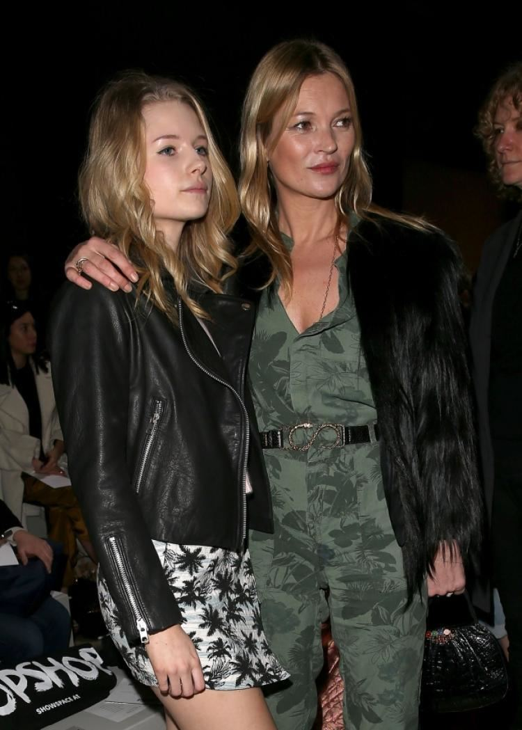 Kate Moss Kate Moss younger sister Lottie makes modeling debut NY Daily News