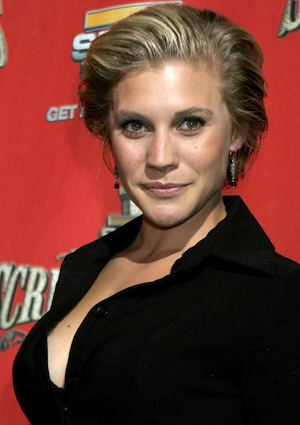 Katee Sackhoff To bulk up for her role in Riddick Katee sackhoff Actresses and