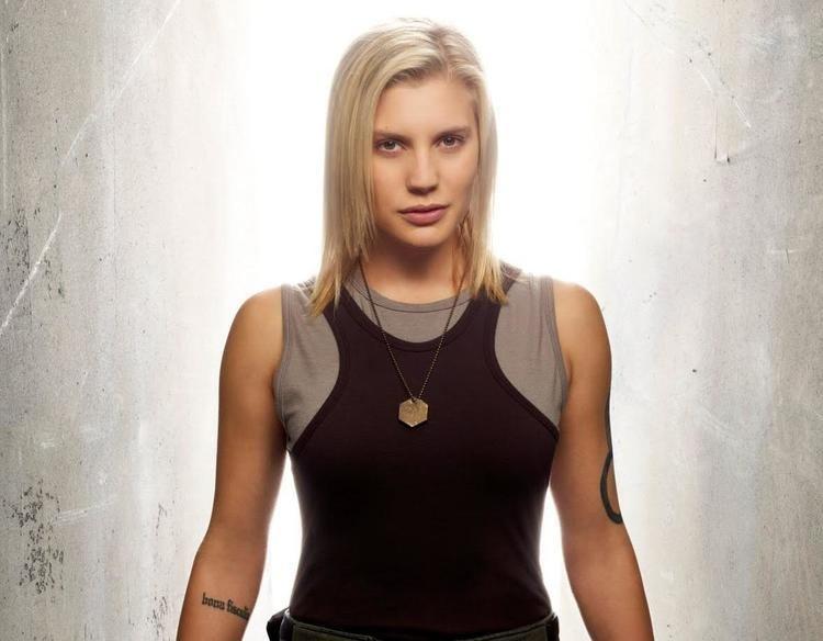 Katee Sackhoff Katee Sackhoff on playing Battlestar39s Starbuck and