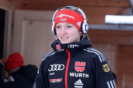 Katharina Althaus LadiesSkijumpingcom Katharina Althaus won German