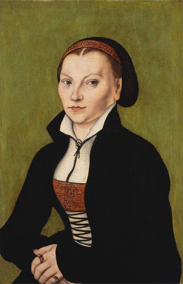 Katharina von Bora FileLucas Cranach d Bildnis der Katharina von Bora