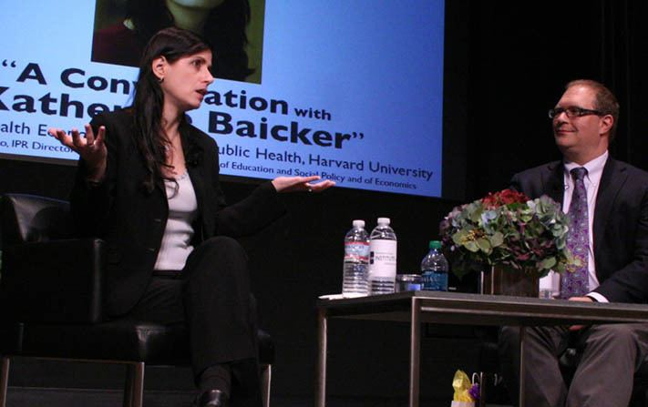 Katherine Baicker The State of Healthcare Institute for Policy Research