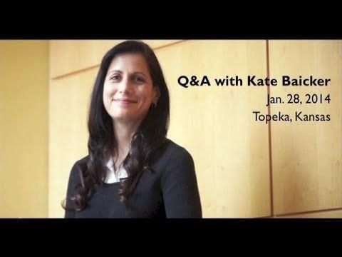 Katherine Baicker Kate Baicker QA YouTube