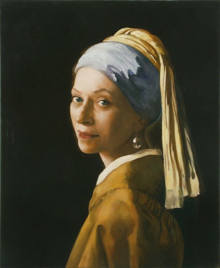 Kathleen Gilje Kathleen Gilje Melva Bucksbaum as Woman with a Pearl Earring
