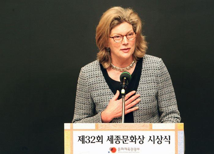 Kathleen Stephens Ex US Ambassador Kathleen Stephens To Teach at Hankuk University