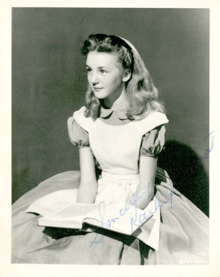 Kathryn Beaumont Emma39s Disney World yourland Kathryn Beaumont as Alice