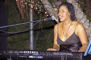 Kathy Brown Kathy Brown Ocho Rios Jazz Festival AmstarDMC