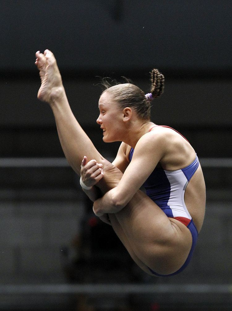 Katie Bell (diver) Former Ohio State diver Katie Bell recovered mentally physically