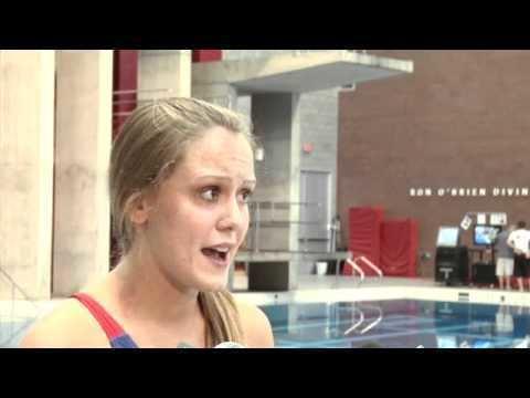 Katie Bell (diver) Meet Olympic Diver Katie Bell YouTube