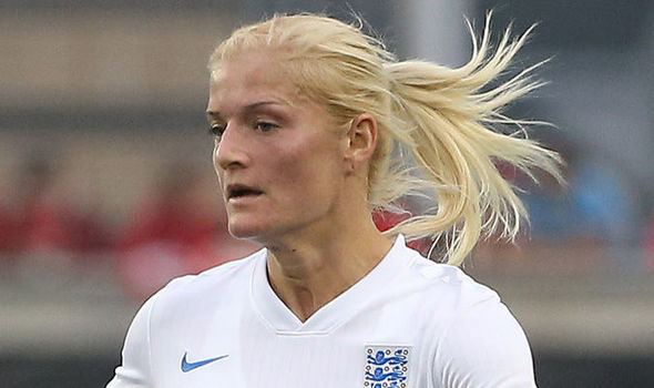 Katie Chapman Katie Chapman says England can play without pressure